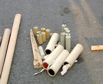 Podomácku vyrobená pyrotechnika