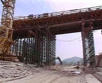 Stavba tunelu Branisko