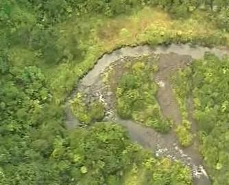 Řeka Mangatepopo