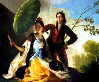 Francisco Goya: Slunečník (1777)