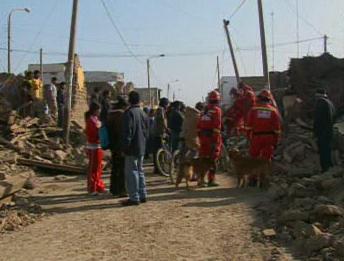 Po zemětřesení