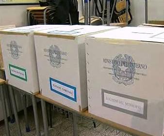 Volební urny v Itálii