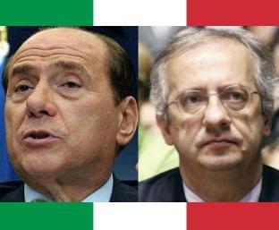 Silvio Berlusconi a Walter Veltroni