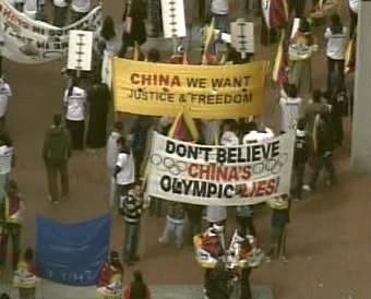 Demonstrace v San Francisku