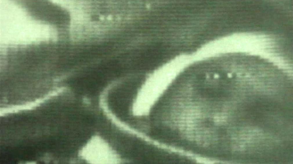 Jurij Gagarin během vesmírného letu