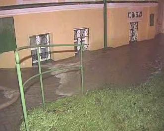 Lokální záplavy po bouřce na Karlovarsku