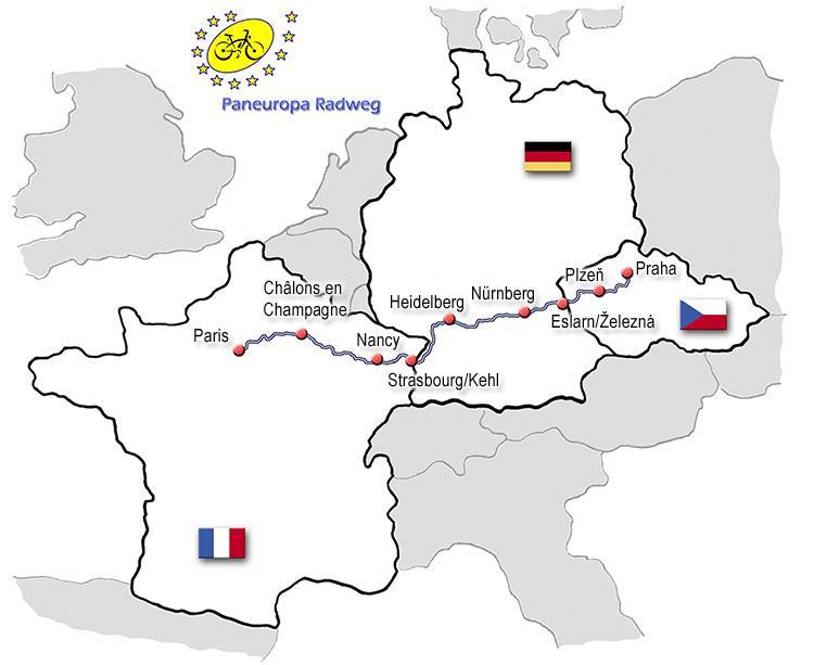 Panevropská cyklistická stezka