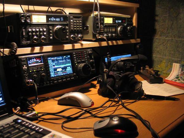 Amatérská radio stanice