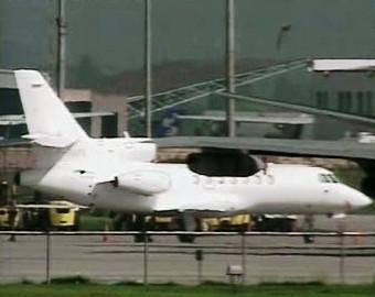 Letadlo francouzských zdravotníků