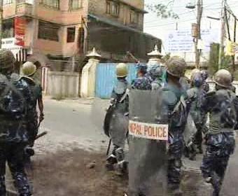 Nepálská policie