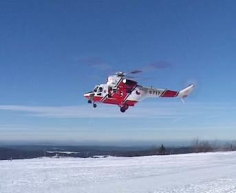 Vrtulník Horské služby
