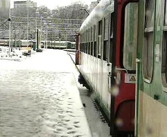 Sněhová kalamita na železnici