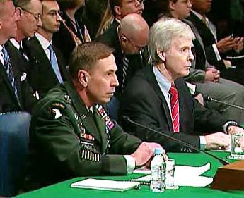 David Petraeus a Ryan Crocker