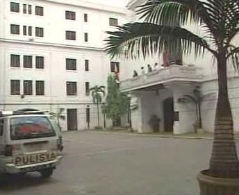 Soudní budova v Manile