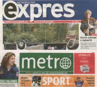 Metro a Metropolitní expres