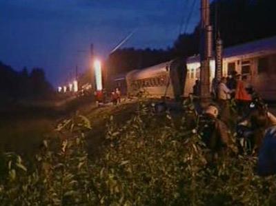 Nehoda vlaku v Rusku