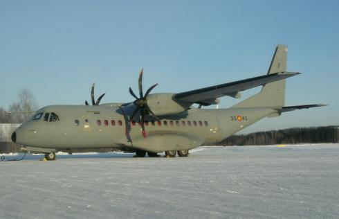 Vojenské dopravní letadlo typu EADS Casa C-295M