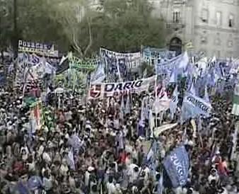 Demonstrace v Argentině