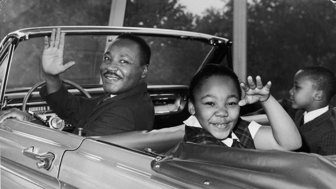 Martin Luther King s dětmi