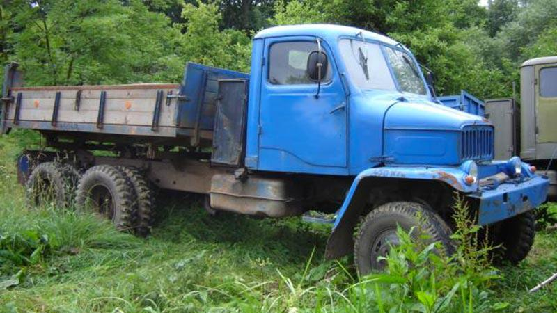 Nakládní auto Praga V3S