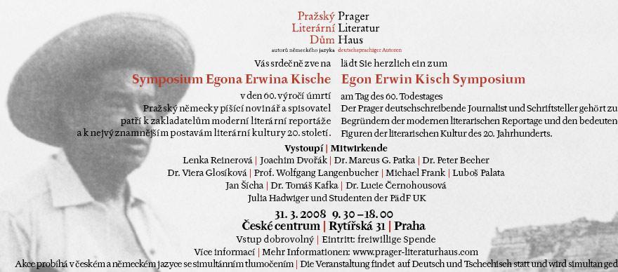 Symposium Eghona Erwina Kische
