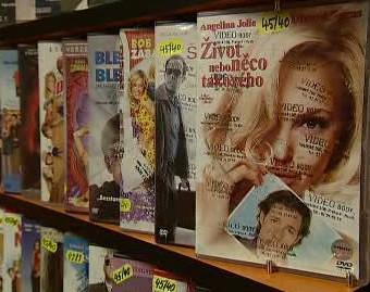 Prodej DVD