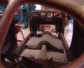 Brouk před rekonstrukcí