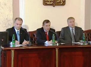 Ivan Langer, Jiří Čunek a Mirek Topolánek