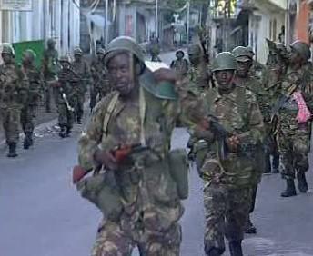 Vojáci Komorských ostrovů