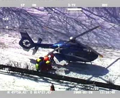 Záchranáři u nehody na D1