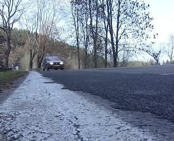 Silnice na Šumavě