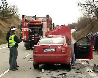 Nehoda na Benešovsku