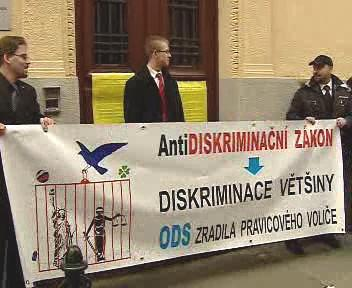 Demonstrace nacionalistů