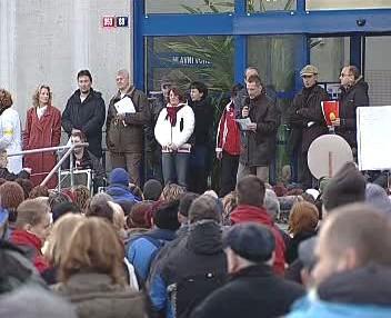 Stávka karlovarských lékařů