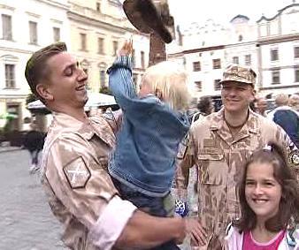 Návrat českých vojáků