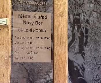Městský úřad Nový Bor