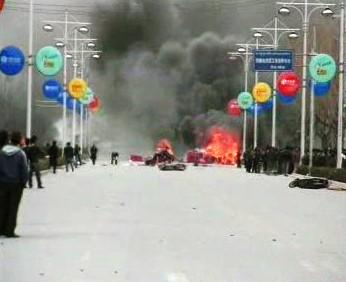 Nepokoje v Tibetu.