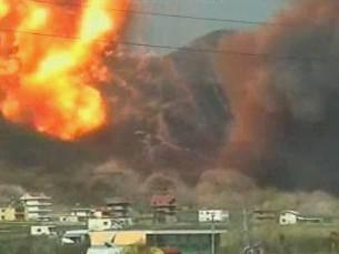 Exploze muničního skladu v Albánii