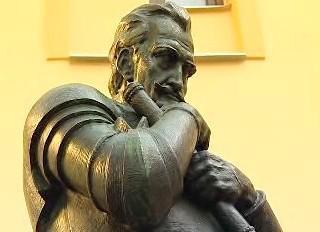Socha Albrechta z Valdštejna