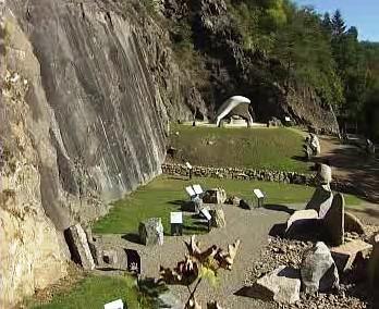 Výstava hornin