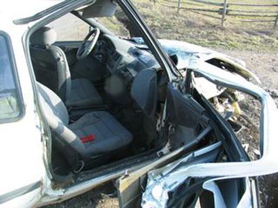 Ford po nehodě
