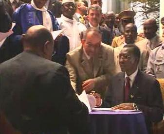 Prezidenti Čadu a Súdánu