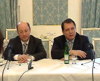 Alexander Babakov a Jiří Paroubek
