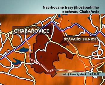 Obchvat Chabařovice