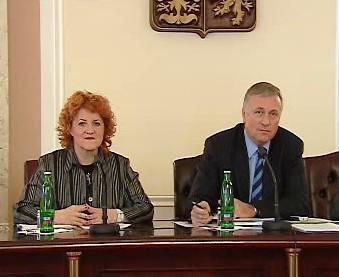 Vlasta Parkanová a Mirek Topolánek