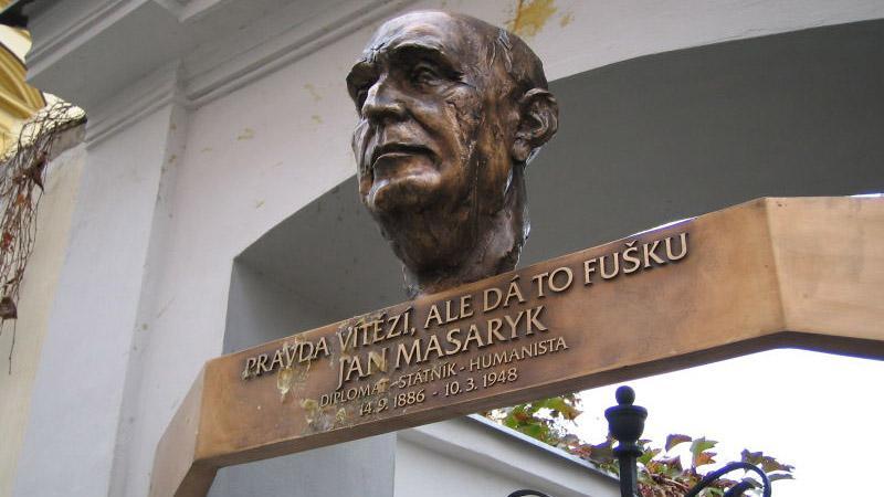 Pomník Janu Masarykovi