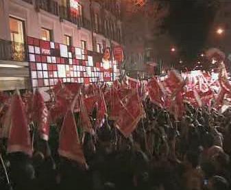 Španělská PSOE zvítězila ve volbách