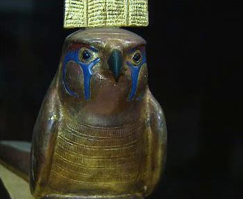 Pozůstatek z dob faraóna Tutanchamona