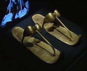Sandály faraóna Tutanchamona