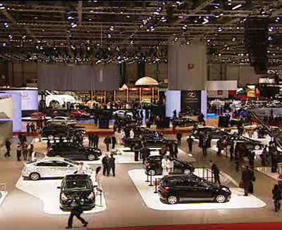 Autosalon v Ženevě 2008